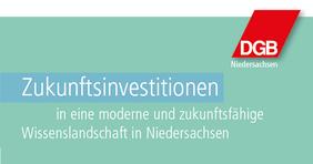 Teaser Hochschulpapier DGB Niedersachsen