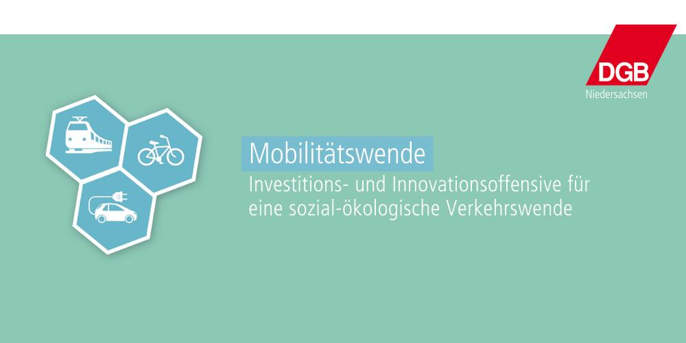 Programm zur Mobilitätswende des DGB Niedersachsen