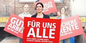 Bundestagswahl 2013 - Gute Arbeit, Sichere Rente, soziales Europa, Aktiver Staat