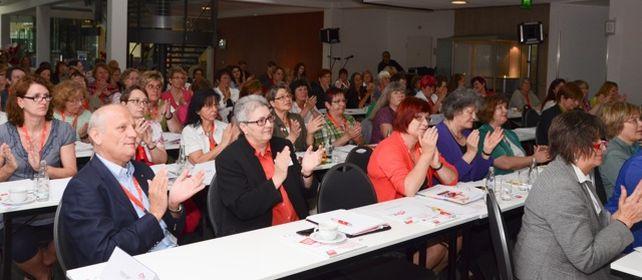 Delegierte und Gäste der 3. Bezirksfrauenkonferenz