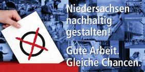 Logo: DGB zur Landtagswahl 2013