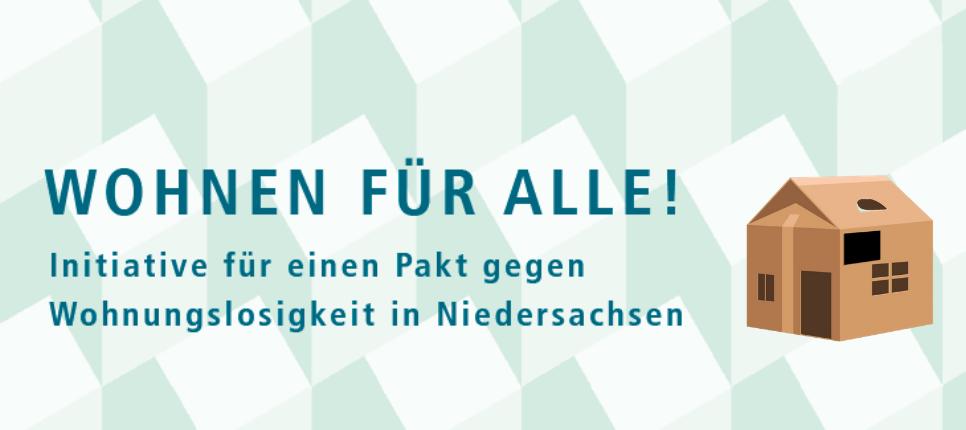 Pakt gegen Wohnungslosigkeit in Niedersachsen