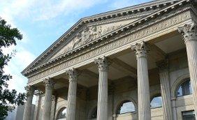 Portikus niedersächsischer Landtag