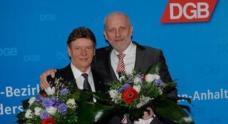 Udo Gebhardt und Hartmut Tölle