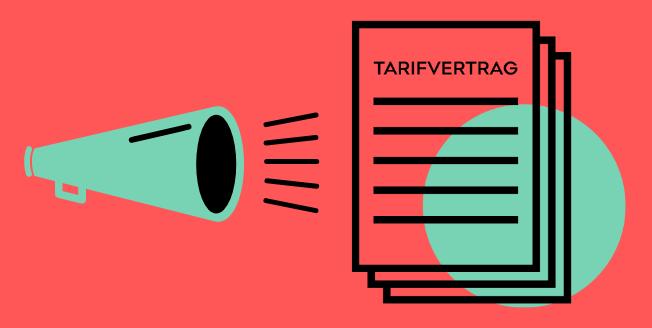 Teaser Calling for Tarifvertrag