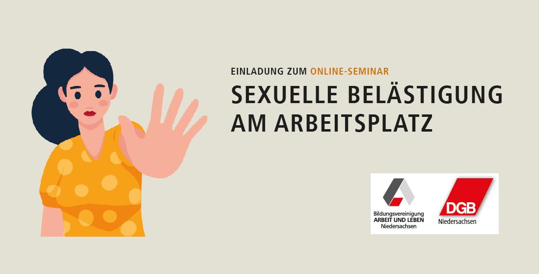 Einladung Seminar Sexuelle Belästigung am Arbeitsplatz 26. November 2020