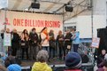 Aktion one billion rising am 14. Februar in Hannover