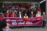 Musik und Politik auf der DGB-Bühne in Göttingen